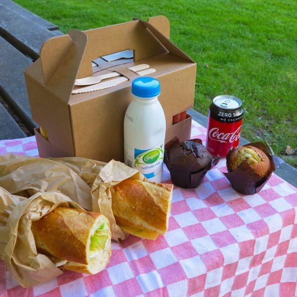 Lunchbox van karton