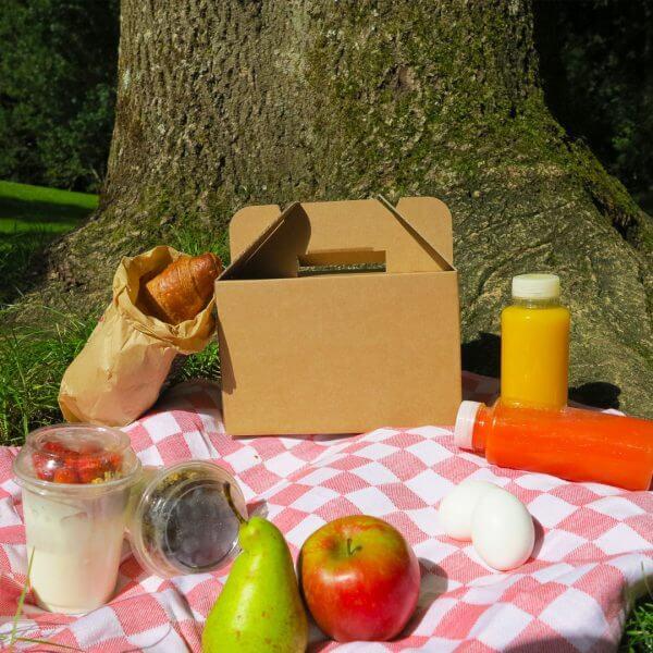 Boîte de petit-déjeuner en carton