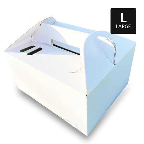 Picknick box van wit karton